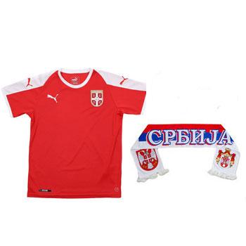 b78252add Fan set for WC - Puma jersey and scarf Serbia   FSS Online Shop