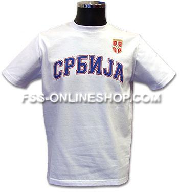 5e1033b0169 T shirt Serbia : FSS Online Shop
