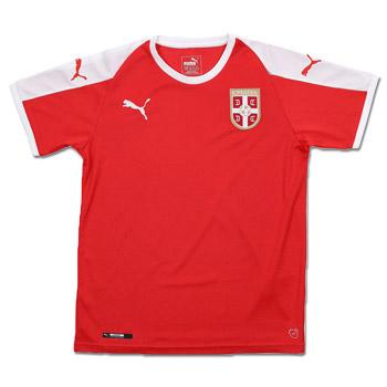 140b41034 Puma kids Serbia home jersey for World Cup 2018   FSS Online Shop